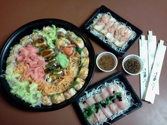 Sushi hana japanese fusion tulsa menu prices for Asian cuisine tulsa