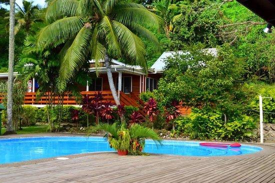 Daku Resort: The lovely swimming pool