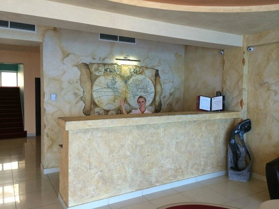 Lazur Beach Hotel: Ресэпшн
