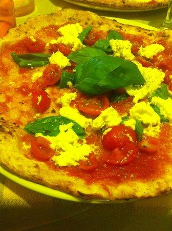 Pizza AM : caprese