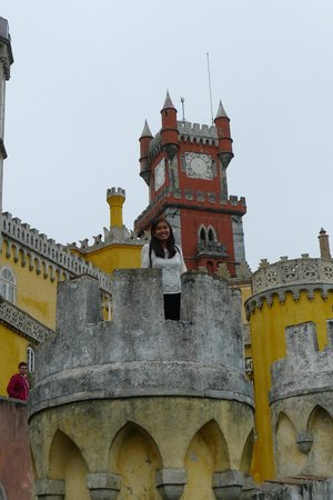 Park and National Palace of Pena: National Palace of Pena, Sintra, Portugal