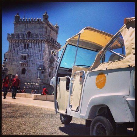 Space Shuttle Tours: Our Calessino in Belem