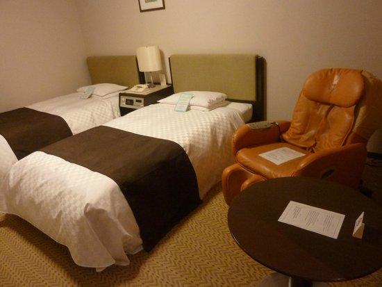 Keio Plaza Hotel Sapporo: Twin room