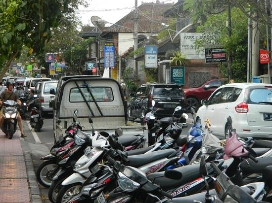 Maya Ubud Resort & Spa: free shuttle ride to ubud monkey forest