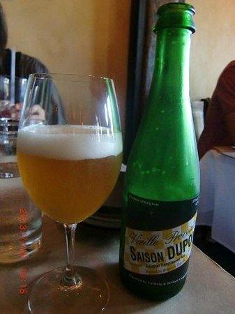 Zuzu: ベルギー・エール・ビール(Saison Dupont)