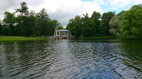 Catherine Palace and Park: Пруд