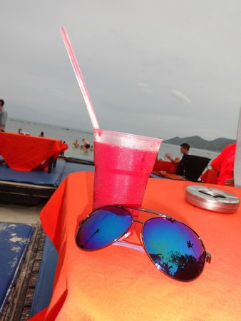 Ark Bar Beach Club: strawberry daiquiri