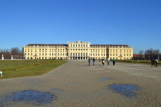 Château de Schönbrunn : дворец