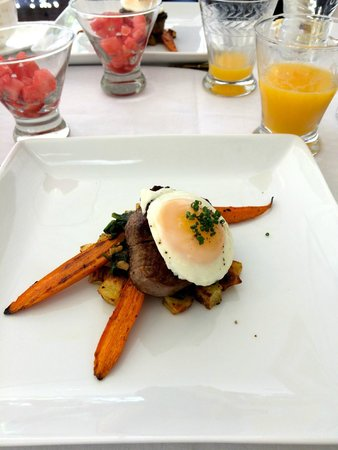 Luxe Calistoga: Another yum breakfast