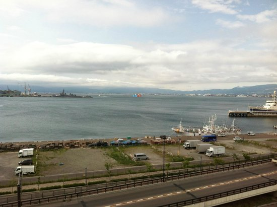 Hakodate Kokusai Hotel: View from room in the new building