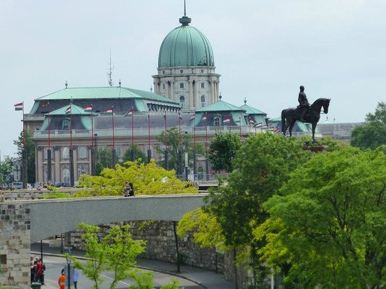 Burgpalast: General View of Buda Castle
