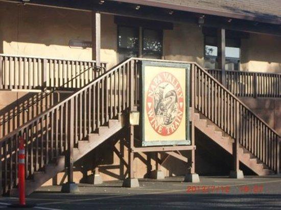 Napa Valley Wine Train: ワイントレイン駅舎