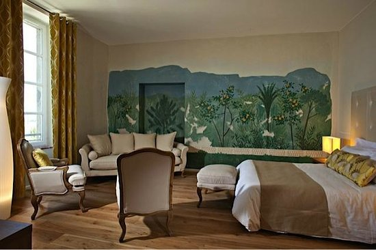 ma chambre au chateau de Siran