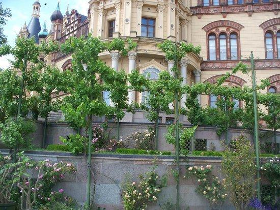 Schwerin Castle (Schweriner Schloss): parte del giardino