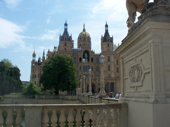 Schwerin Castle (Schweriner Schloss): esterno