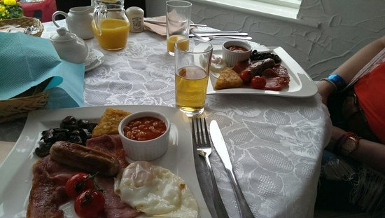 Aparthotel Blackpool: Breakfast yum!