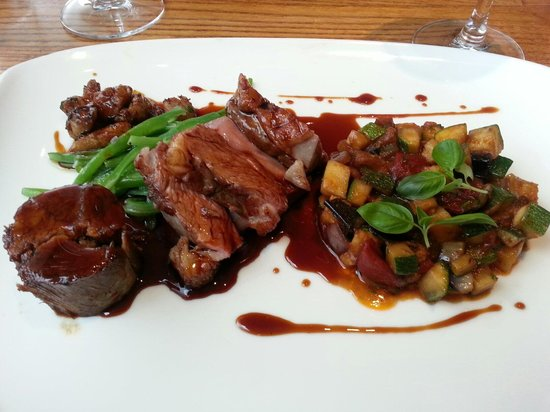Restaurant Michael Nadra Chiswick: I have rump of lamb with sweetbread, recommend anyone to try. Excellent!