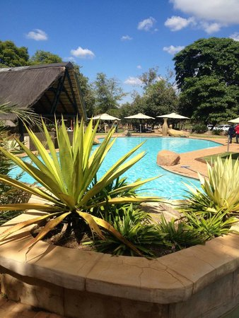 Mabula Game Lodge: swimmingpool