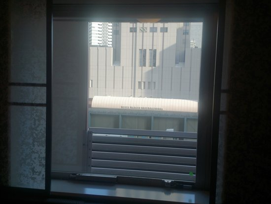 Hearton Hotel Kitaumeda : 眺めは期待薄・・・。