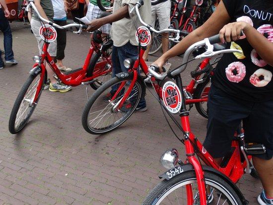 MacBike: Our bikes