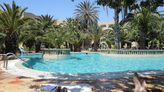 Mediterranee Thalasso Golf : prachtig zwembad