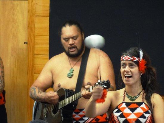 Whakarewarewa - The Living Maori Village : Concert Party