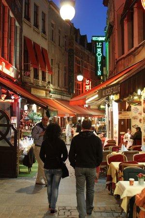 Rue des Bouchers: Приятный вечер