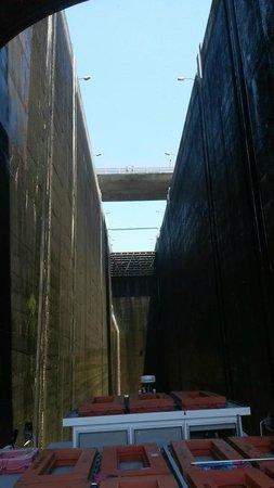 Rio Douro: Ecluse de Carrapatelo