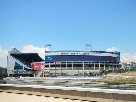 Madrid Rio: Estádio do Atlético de Madrid