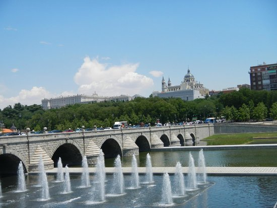 Madrid Rio: Vista