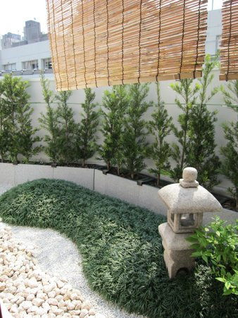 The Edo Sakura : Quaint little rock garden