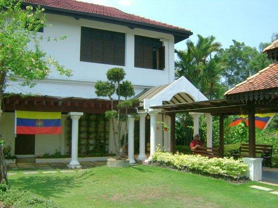 Hibiscus Garden: Information centre at Taman Bunga Raya