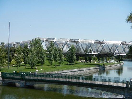 Madrid Rio : Ponte em espiral