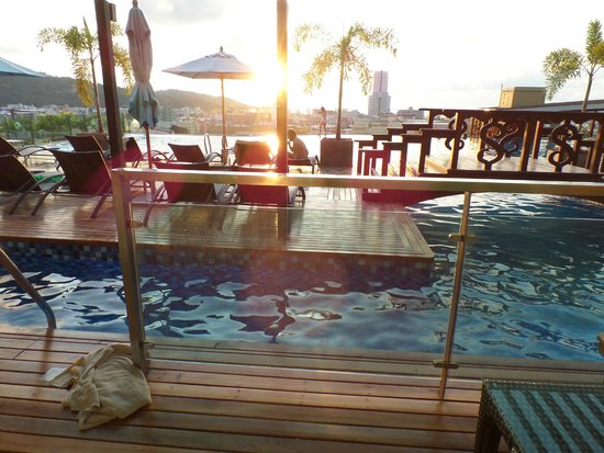 The Senses Resort & Pool Villas: View from our private room deck.