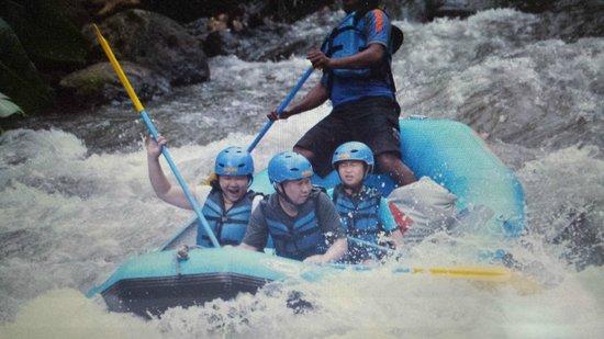 Bali Sobek: Ayung river rafting with Sobek