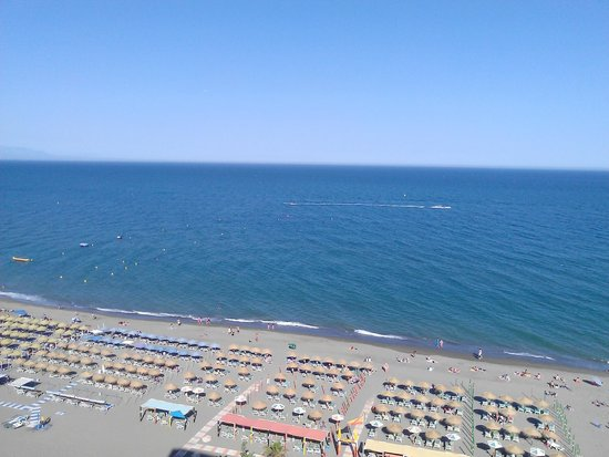 Melia Costa del Sol: Seaview from the terrace