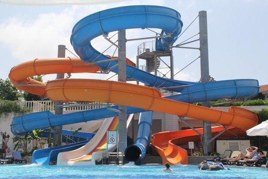 Alba Queen Hotel: Water slides