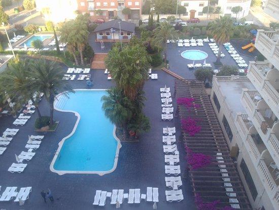 """Aqua Hotel Bella Playa: Вид с номера """"комфорт"""""""