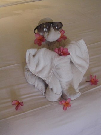 Rama Garden Hotel Bali : The towels