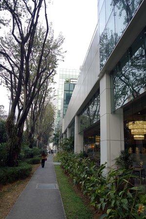Park Regis Singapore : Фасад отеля