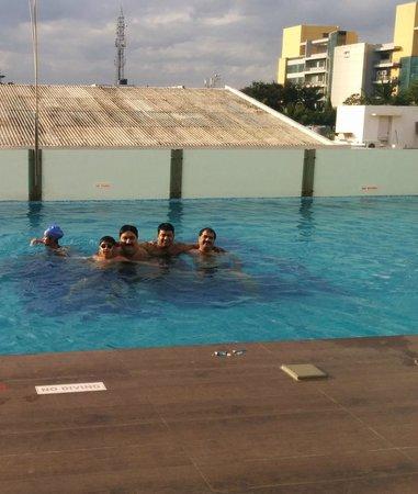 Aloft Bengaluru Whitefield: In the pool of Aloft