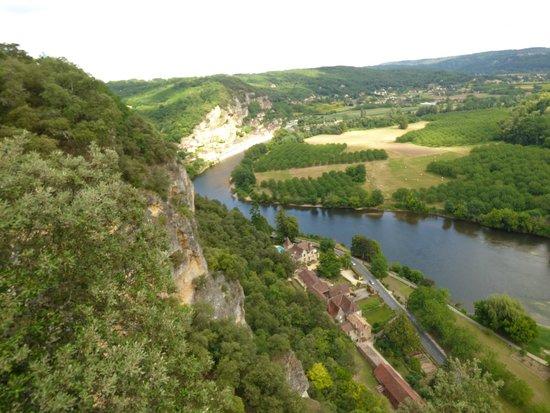 Les Jardins de Marqueyssac : vue sur la Dordogne