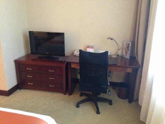 Holiday Inn Shenzhen Donghua: TV a bit too small