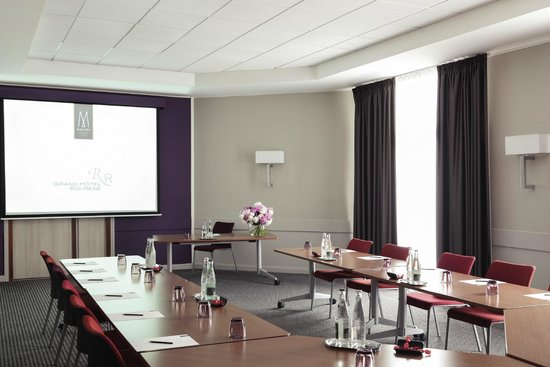 Grand Hotel Roi Rene Aix-en-Provence Centre - MGallery By Sofitel: Meeting Room