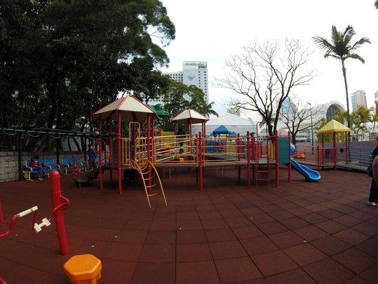 Kowloon Park: child's playgrounds