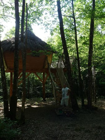 Yourte and Spa : la cabane