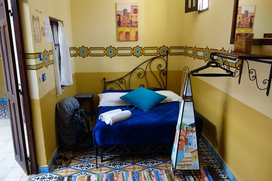 Riad Baraka : double room, shared bathroom