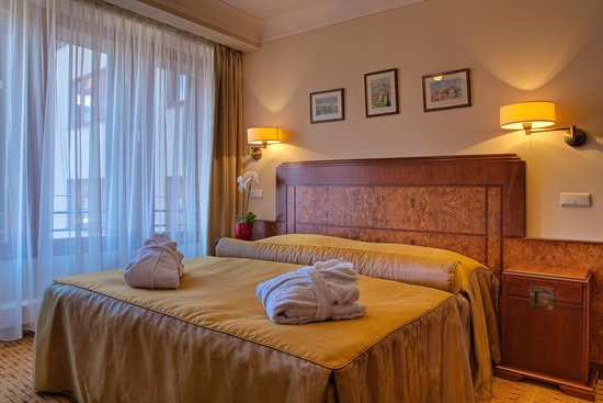Hotel Majestic Plaza Prague: Double room Art Deco