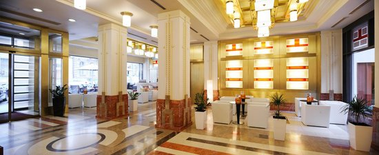Hotel Majestic Plaza Prague: Lobby
