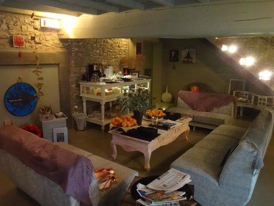 Villa Aruch : Lounge/recreation area